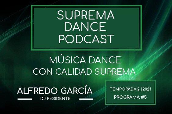 DJ Residente Alfredo García Programa-5 | T.2